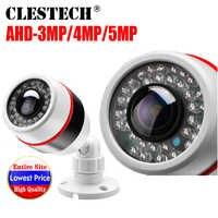 1.7mm Super grand Angle Panorama CCTV AHD caméra 5MP 4MP 3MP 1080 P SONYIMX326 Fisheye lentille 3D effet de balle vidéo de sécurité infrarouge