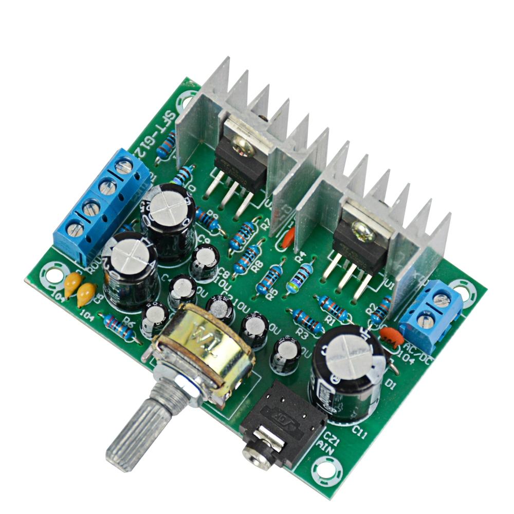15w 12v Power Supply Tda2030 Audio Amplifier Board 20 Dual Circuit Diagram Channel Pure Rear In From Consumer Electronics On