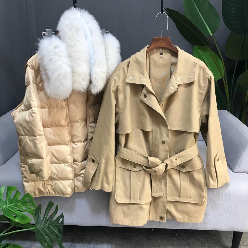 Winter Long Collar White 5