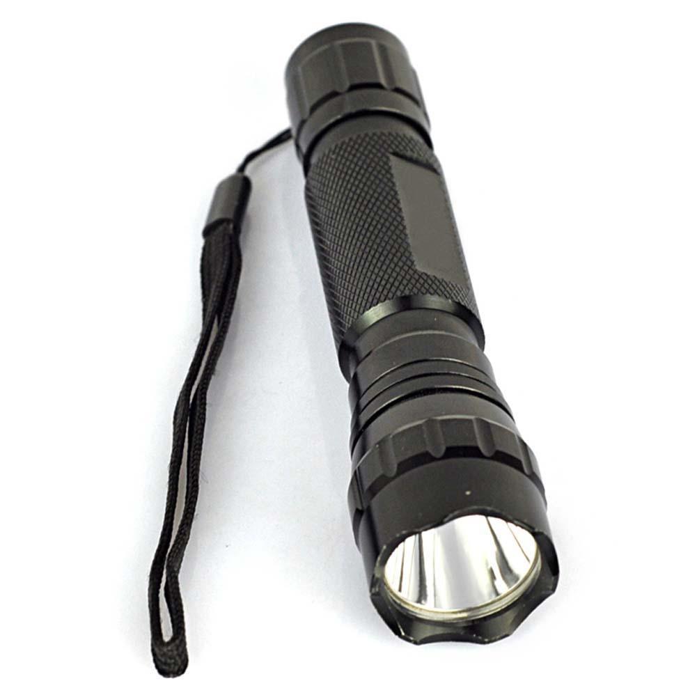 WF-501B 2500LM T6 LED 18650 Flashlight 5-Mode Torch Bike Lamp Light