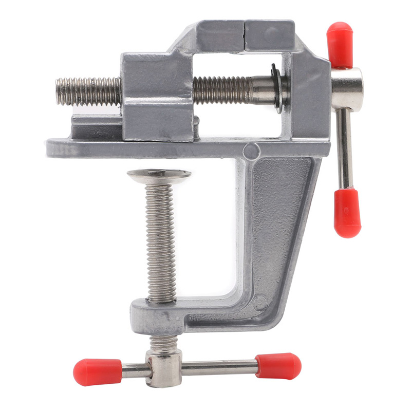 35mm Mini Tool Vice Aluminum Small Clamp On Table Jewelers Hobby Bench Tool 1Pc Drop Ship