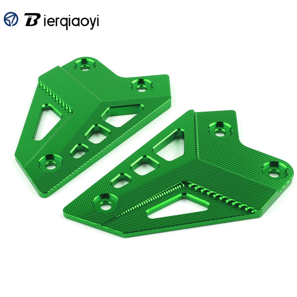 Image 2 - Z900 Motorcycle Accessories For Kawasaki Z900 2017 Z 900 Parts CNC Footrest Pedal Cover foot pegs Heel Plates Guard Protector-in Covers & Ornamental Mouldings from Automobiles & Motorcycles