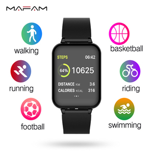 MAFAM B57 Women Blood Smart Wristband Pressure Oxygen Heart Rate Monitor Pedometer Fitness Tracker For Android iOS Bracelet