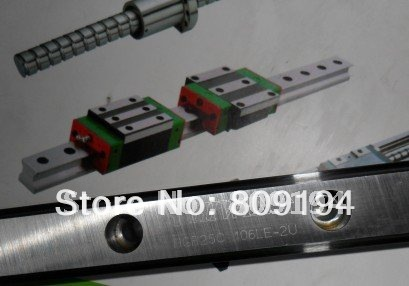 HIWIN  linear guide rail  HGR15 from taiwan to 1000mm hiwin linear guide rail hgr15 from taiwan to 1000mm