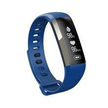 Смарт-фитнес часы-браслет Приборы для измерения артериального давления калорий сна сердечного ритма Мониторы крови кислородом с 0.96 дюйм(ов) OLED