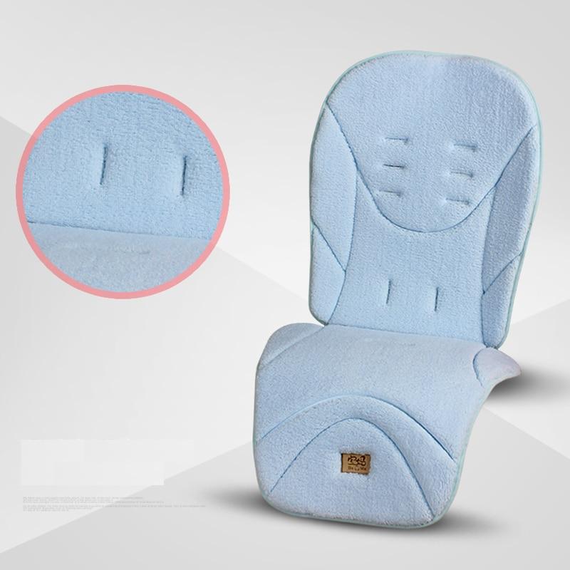 Детская коляска, теплая подушка на сиденье, обеденный стул, детская коляска, аксессуары для коляски 3