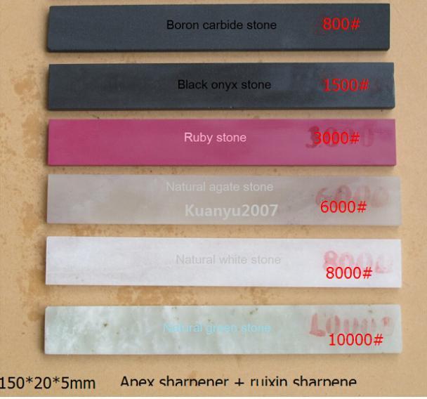Apex sharpener +Ruixin sharpener Sharpening Grindstone Polishing Stone Grit 800 to 10000# Sharpener System Graver oilstone