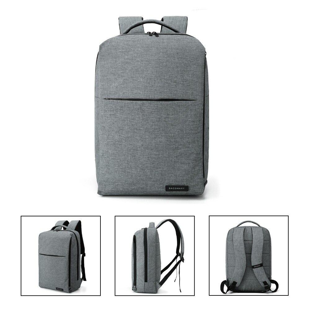 BAGSMART Nouveau sac à dos pour ordinateur portable Multifonction Sac À Dos 15.6 Pouces sac à dos pour ordinateur portable pour Femmes Hommes cartable sac à dos pour mochila mâle - 5