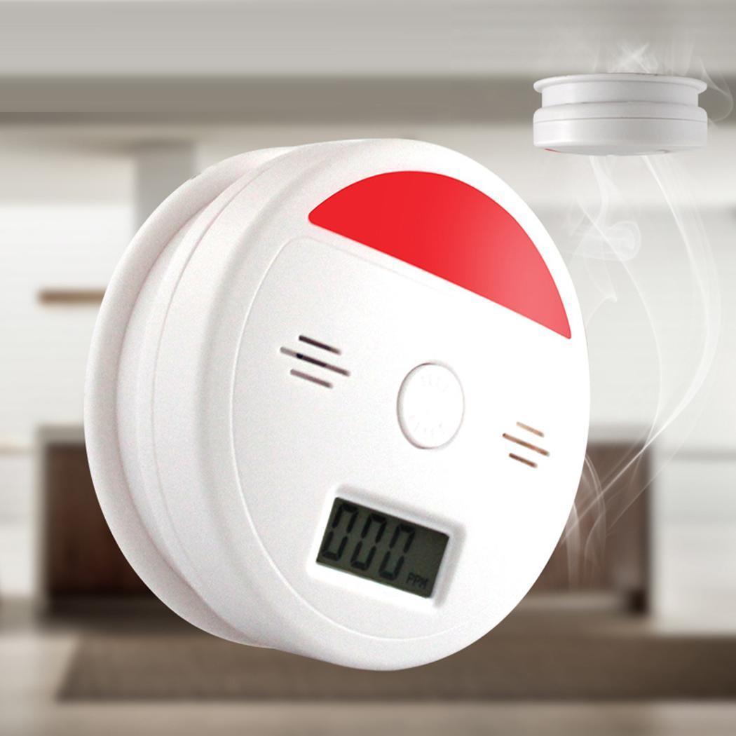 Durable Practical Geometric Indoor Carbon Monoxide 85dB Alarm 20 Home -10 - 50 35 Household 95%RH Alarm Tool