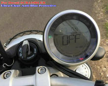 Km table Protection Film Cluster Scratch Protection Film Blu-ray Protector for Ducati SCRAMBLER