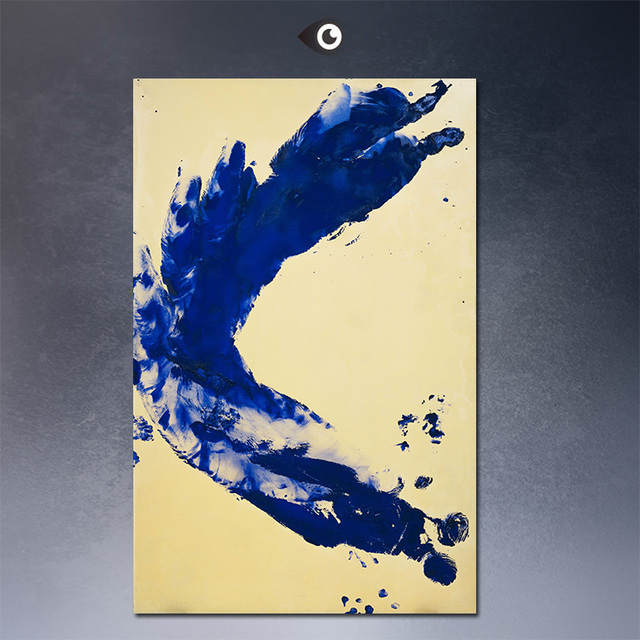 Large Modern Abstract Art Oil Painting ANTHROPOMETRIE (ANT 130 ...
