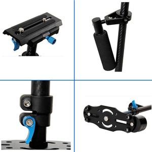 Image 3 - YELANGU S60T Professional แบบพกพาคาร์บอนไฟเบอร์ MINI Handheld Stabilizer กล้อง DSLR กล้องวิดีโอ Steadicam ดีกว่า S60