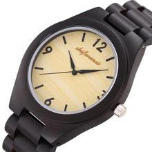 Одежда высшего качества Для Мужчин's Для женщин Роскошные Бизнес кварц двигаться Для мужчин t удобные деревянные часы группа любителей пара кварцевые наручные часы подарок