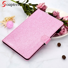 Glitter Bling Tablet Cases For Huawei MediaPad T3 7 BG2-W09 Case Wifi Version For Huawei T3 7.0 inch Cover Soft PU + TPU E-Books