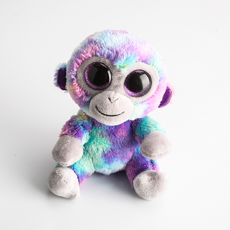 Ty Beanie Boos Big Eyes Stuffed   Plush Animals Colorful Monkey Toys Dolls-in  Stuffed   Plush Animals from Toys   Hobbies on Aliexpress.com  5c69c498c22a