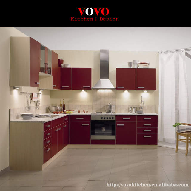 US $2100.0 |Apartment kitchen cabinets factory-in Kitchen Cabinets from  Home Improvement on AliExpress