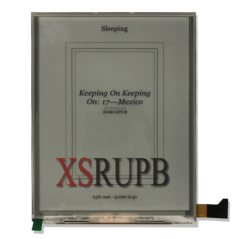 New Eink OPM080A1 LCD Screen for texet TB-138 ebook readers LCD Display Free shipping lm cc53 22nts lcd screen tested good for shipping