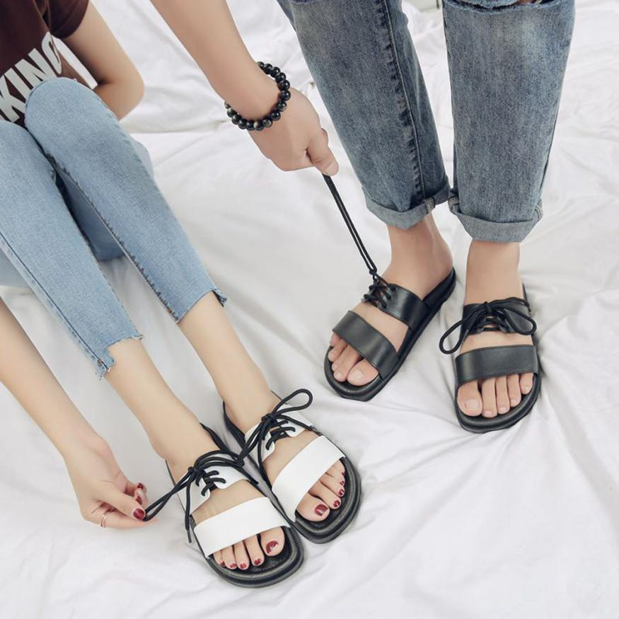 SAGACE Shoes Flip flops Men Women Sandals Straps Beach Shose Casual Shoes Women Slippers Summer casual shoes women 2018JU5