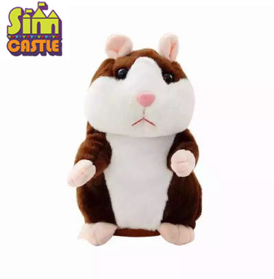 15cm Talking P Plush Sounding Toy Cute Repeated Speaking Mouse Toy Learn To Speak Electric Record Hamsters