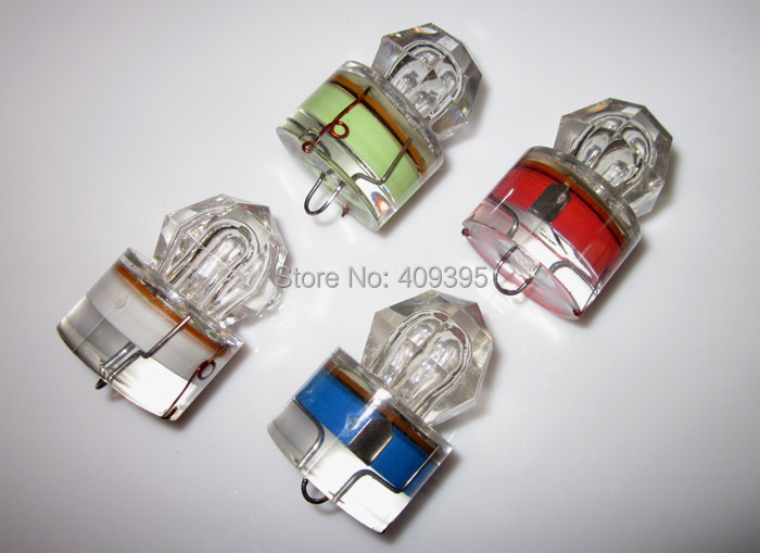 10pcs 2000m/300 hours max LED fishing light Deep water Fishing Light LED fishing lure super good quality Free shipping