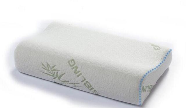 Memory Foam Kussen : Bamboevezel memory foam kussen cervicale kussen cm big