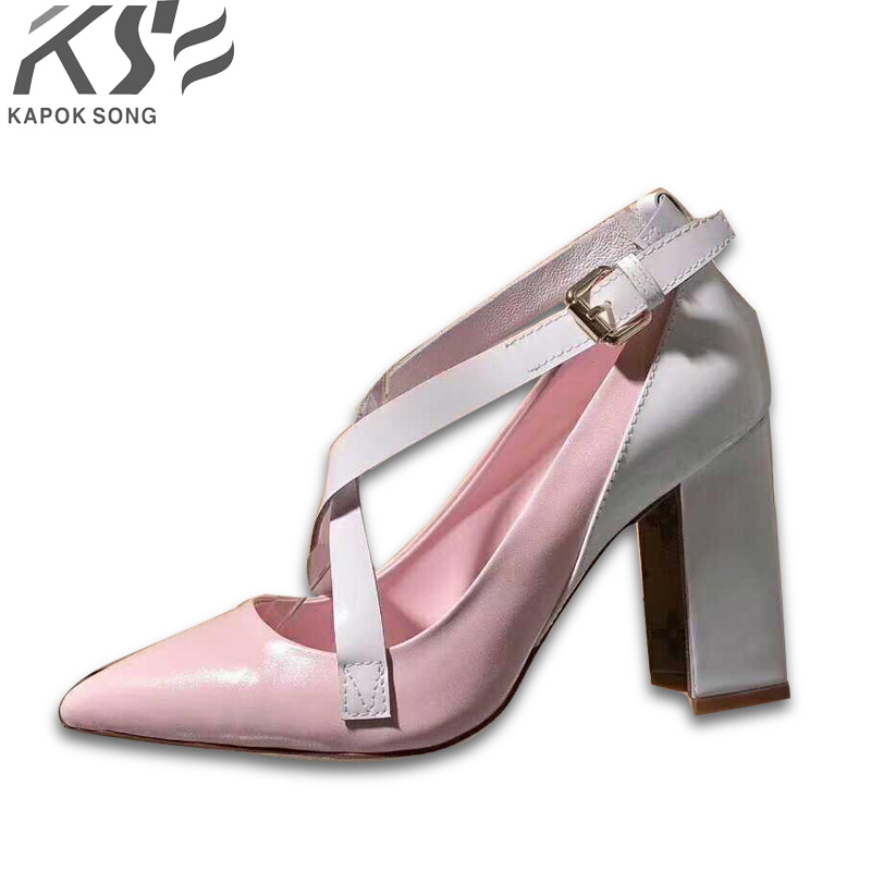 2018 brand women sexy heel sandals luxury designer genuine really leather shoes lady summer comfortable european fashional shoe
