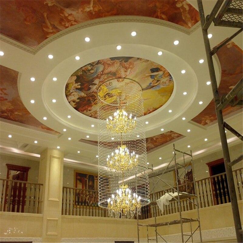 Beibehang 3d Murals European Painting Mural Wall Paper Ceiling Murals Lamp Pool Religion Photo