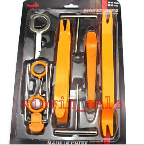 BBQ@FUKA New Auto NylonCar Door Dashboard Panel Dash Audio Stereo GPS Molding Removal Install Tools Kit Set For VW Toyota KIA