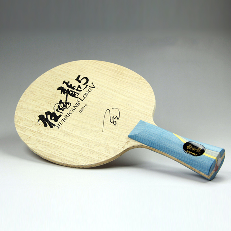 Table Tennis Blade Ping Pong Bat paddle Original DHS Hurricane Long 5 Arylate Carbon ALC Racket  Weapons of champion Malong туфли