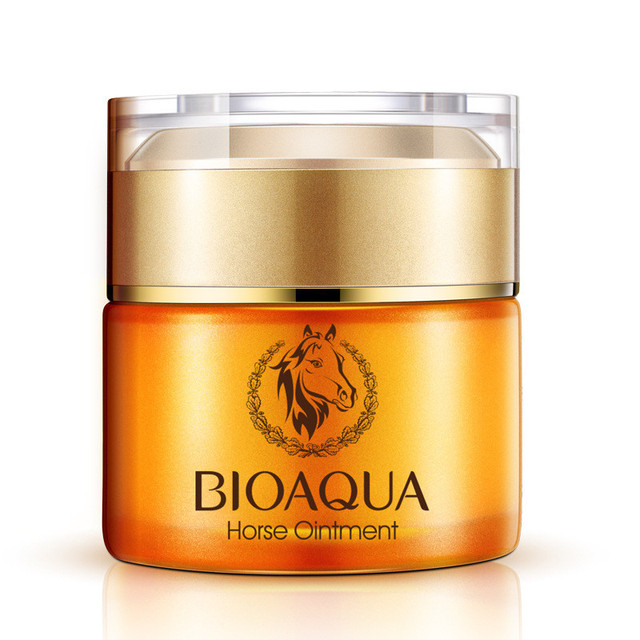 12Pcs BIOAQUA Face Care Nutrition Horse Ointment Cream Moisturizing Whitening Anti-Aging Cream Anti Wrinkle Day Cream