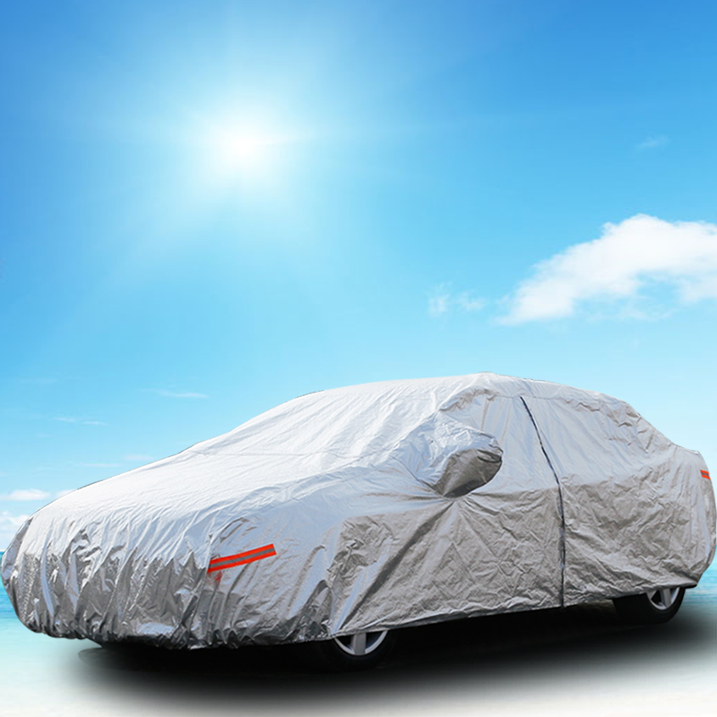 ФОТО Car Cover For Outdoor UV Waterproof Rain Dust Snow Breathable Full Protection