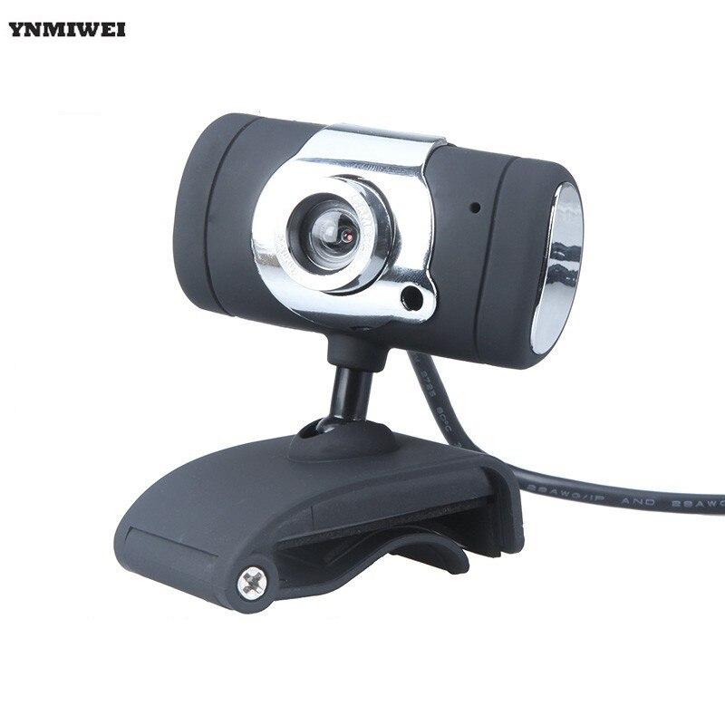 Веб-камера клип-на 640x480 P USB веб-Камера Высокое разрешение USB компьютера Камера для Тетрадь настольных ПК веб- камера С микрофоном
