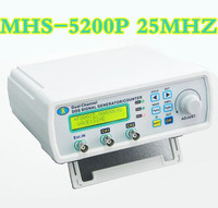 MHS 5200P DDS TTL Digital Dual Channel Arbitrary Waveform Generator Function Signal Generator Tester 25MHz 50