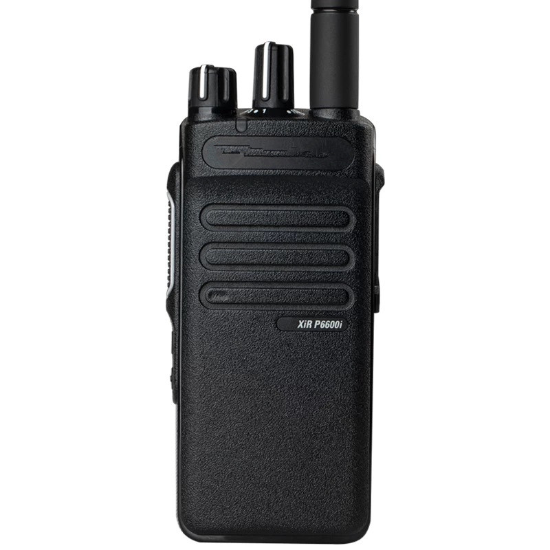 the housing case with speaker knobs cable for XIR P6600I walkie talkie