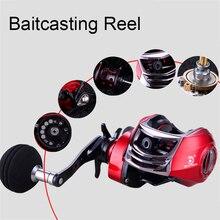 Double Brake fishing reel Carbon main body Super light Baitcasting Reel Carp Fishing Bass Left Handed Right Hand Bait Casting