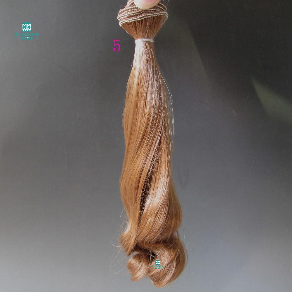 1 st 20cm * 100cm Stora vågkrullar Dockstillbehör peruker / hår - Dockor och tillbehör - Foto 2