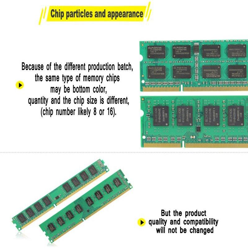 Merk Geheugen DDR3 Ram 1600 Mhz 2 GB 4 GB 8 GB voor Laptop Notebook - Computer componenten - Foto 3