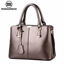 2017 New Fashion Luxury Famous Brand Women Handbag High Quality Leather Women Messenger Bags Designer 6 Color Clutch For Ladies