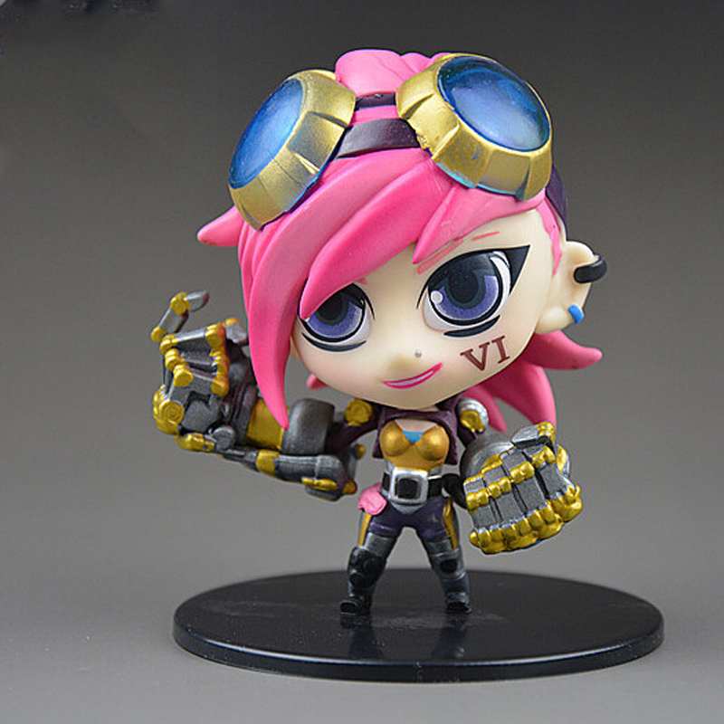 Model Online Games Action Character Mini Pi City Marshal Classic PVC Collection Christma ...