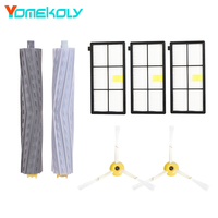 Extractor Filters Side Brush Kits For IRobot Roomba 800 900 Series 805 860 870 871 880