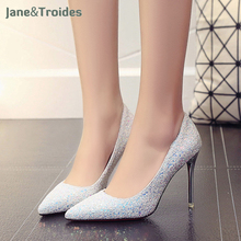 35bfe2182c Buy sparkle heels and get free shipping on AliExpress.com