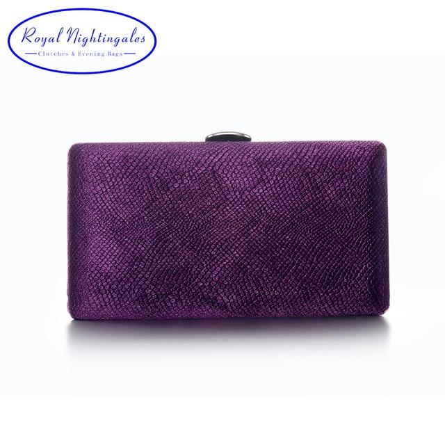 fff5dd8ebe Grigio/Verde/blu Navy/Viola Tessuto In Velluto Hard Case Box Pochette Borse