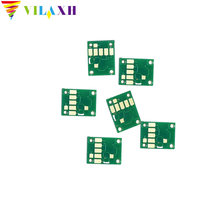 For Canon PGI-580 CLI-581 cartridge Chip for Canon  PIXMA TS8150 TS9150 TS9155 TR7550 TR8550 TS6150 printer parts one time one time chip for mimaki lf140 0728 uv cartridge 7 colors cmyklclmwh printer parts