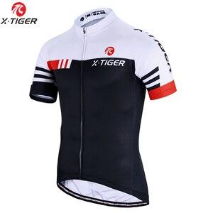 Image 1 - X TIGER lato z krótkim rękawem Pro jazda na rowerze Jersey rower górski odzież Maillot Ropa Ciclismo rower wyścigowy ubrania koszulki