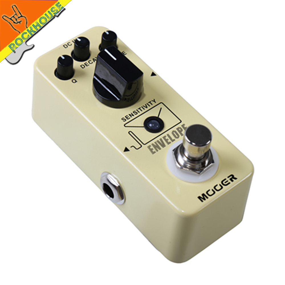Mooer Envelope Analog Filter Guitar Pedal Auto Wah Guitar Effects Pedal with Q DECAY TONE Control Free Shipping mooer ensemble queen bass chorus effect pedal mini guitar effects true bypass with free connector and footswitch topper
