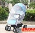 Novo carrinho de toda a cobertura redes mosquiteiros criptografia de Aumento de alta qualidade guarda-chuva carro do bebê carrinho de criança organizador acessório poussette
