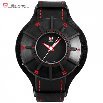Sport 3D Craft Black Red Top Luxury Watches