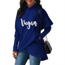 High Quality Large Size 2018 New Fashion Faith Print Kawaii Sweatshirt  Crossover Hoodie
