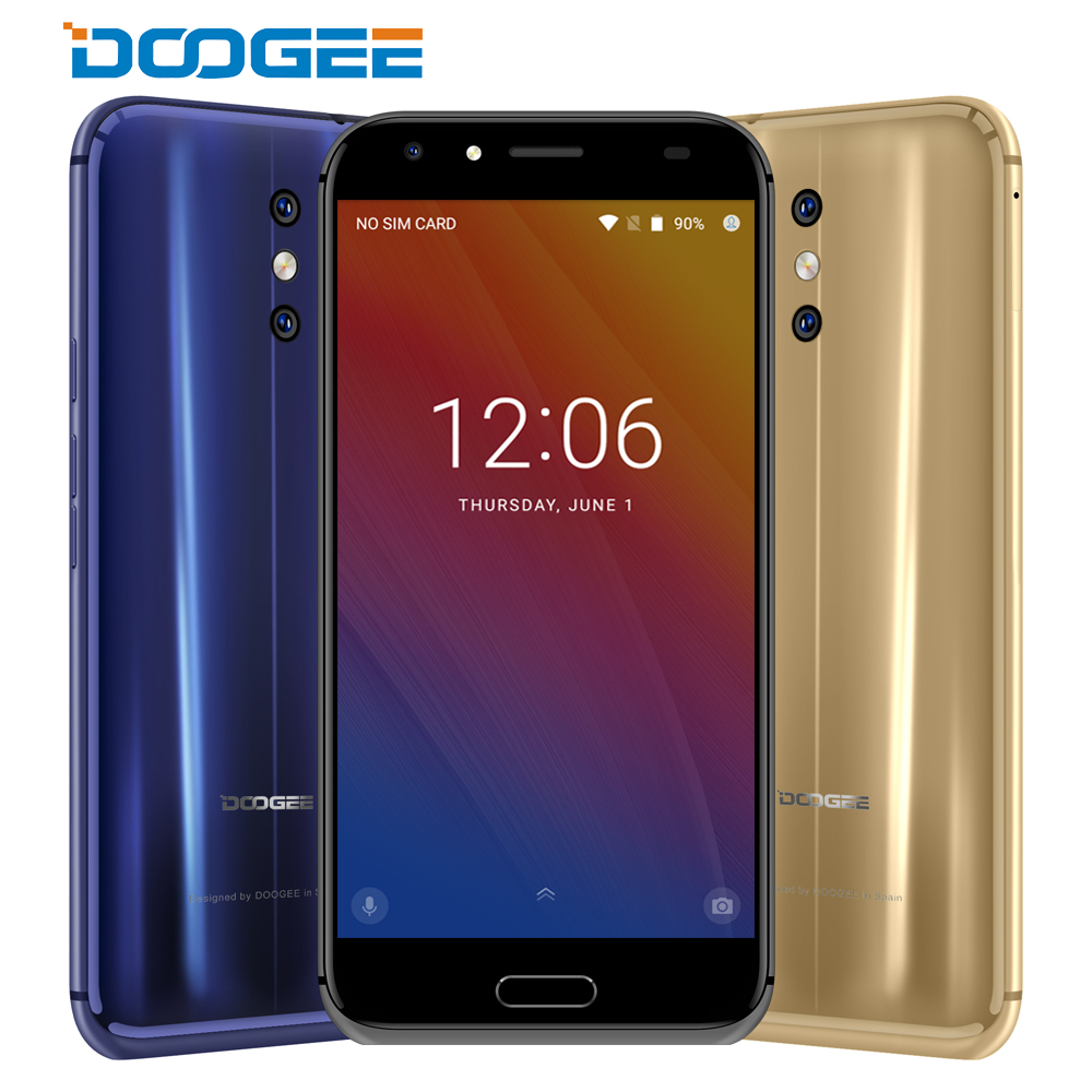 4G DOOGEE BL5000 Smartphone 5050mAh Dual Camera 5.5'' FHD MTK6750T Octa Core 1.5GHz 4GB+64GB smartphone Android 7.0 LTE