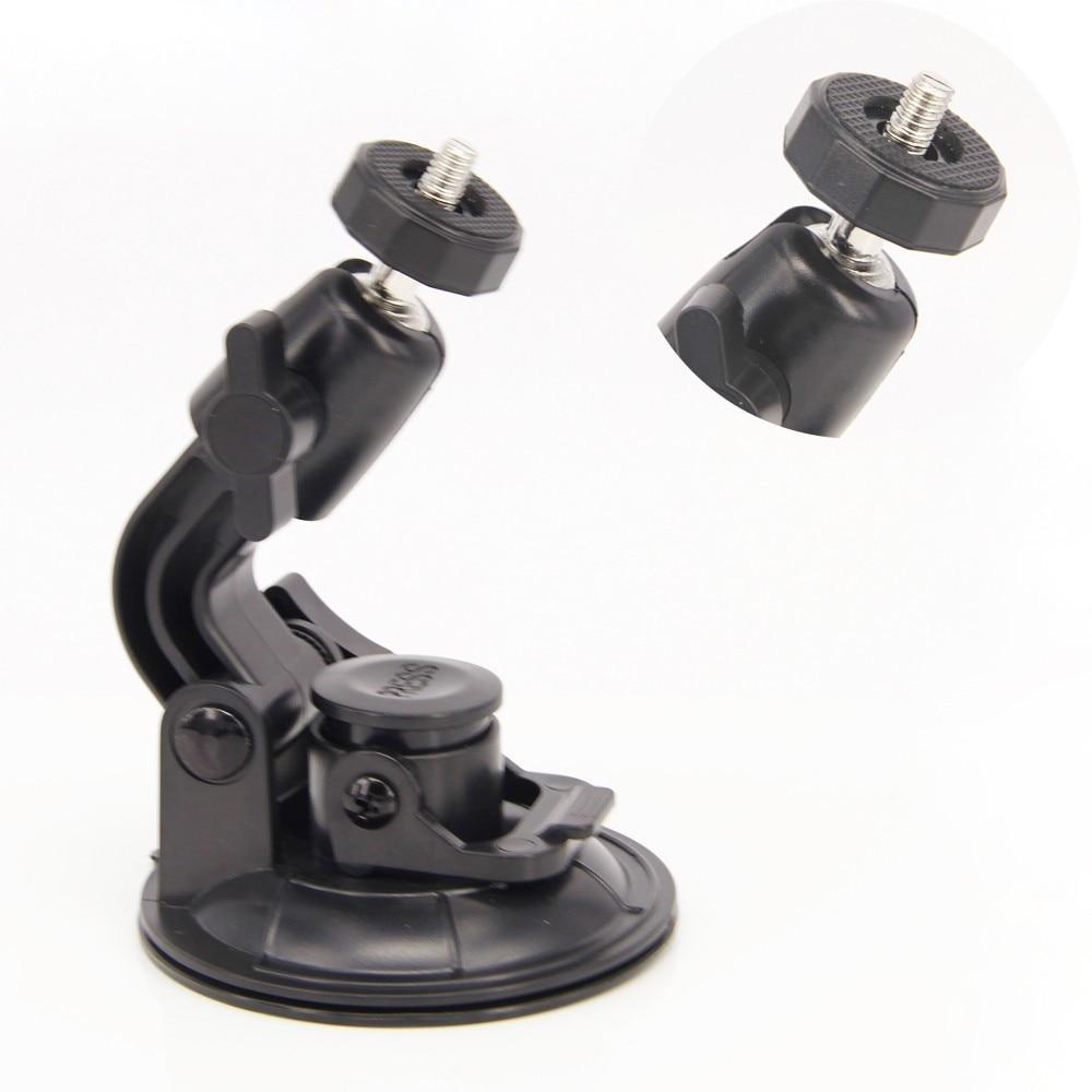אביזרי GoPro 9CM רב תכליתי, כוס יניקה הר אוניברסלי רכב רכב בעל gopro4/3+/3/2/1 מצלמת SJ4000 xiaoyi mi